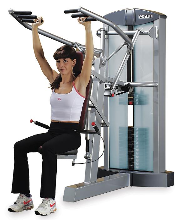 Shoulder Press Machine core strength A...